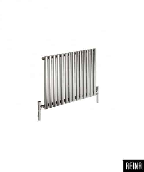 NEROX SINGLE BØRSTET STÅL RADIATOR-2758
