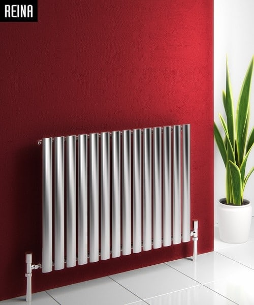 NEROX SINGLE BØRSTET STÅL RADIATOR-0