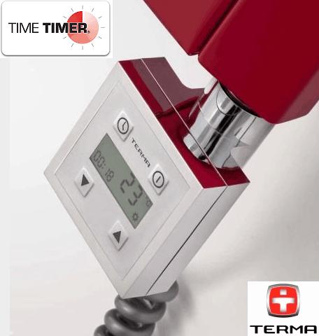 600W Termostatisk El-Patron ''m/Timer'' Krom-0