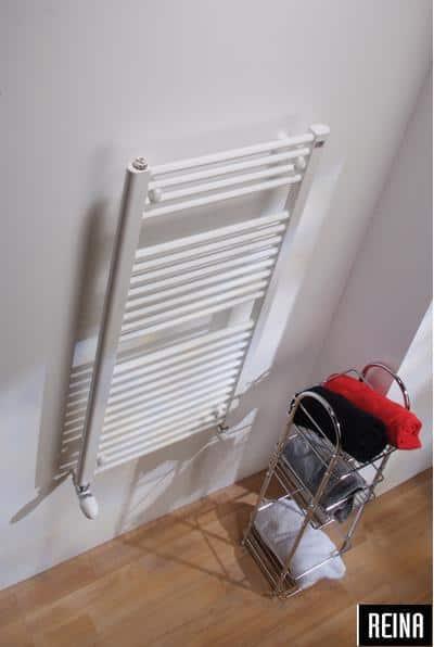 400/1500 HVID FLAD Håndklæderadiator-0